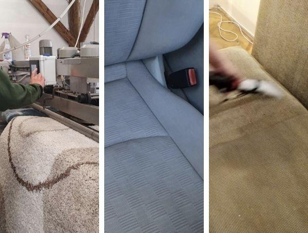 Fluxul serviciilor în curățătoria covoare și tapițerii